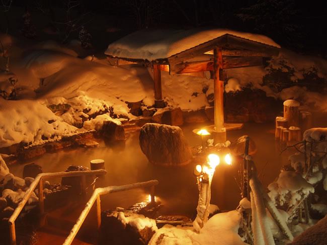豊平峡温泉 露天風呂