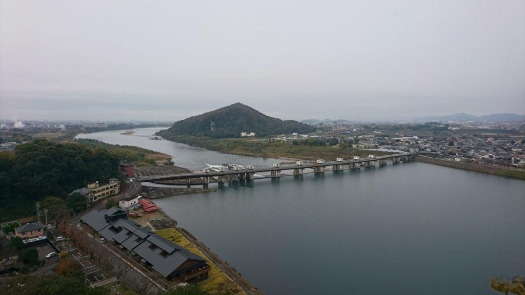 犬山城 木曽川